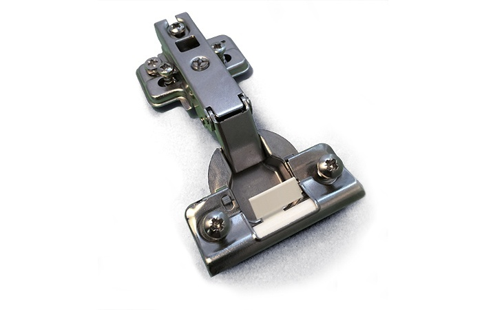 MOUNTINGPLATE AND PRE-ASSEMBLED HINGE